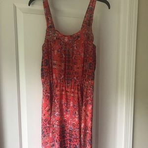 Orange cheetah/ leopard dress Rachel Roy